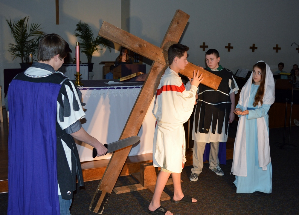 Image result for living stations of the cross